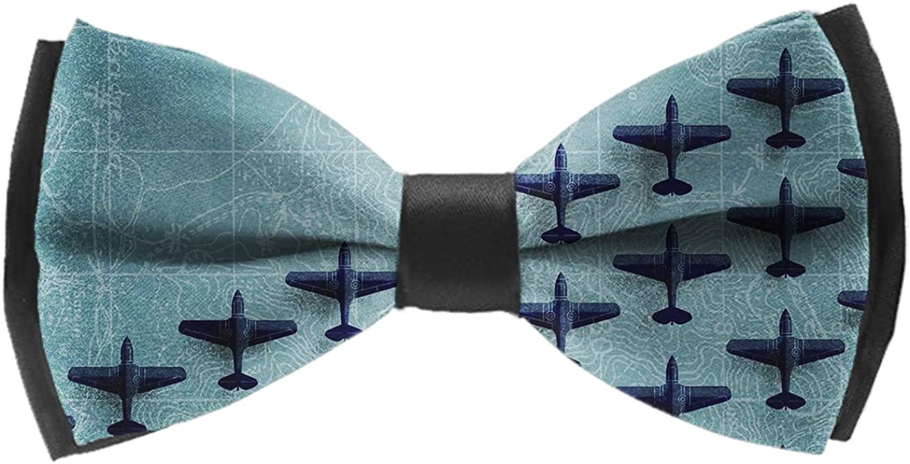 Bowtie Self Bow Tie - Paisley Tie - Wedding Party Gift, Holiday Party Bow Tie