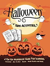 HALLOWEEN KIDS ACTIVITIES: Fantastic Activity Book For Boys And Girls: Word Search, Mazes, Coloring Pages, Connect the dots, how to draw tasks. For kids ages 5-8 (Halloween Crafts) PDF