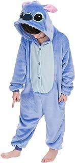 Unisex-Children Pajamas Sleeping Wear Animal Onesies Cosplay Costume