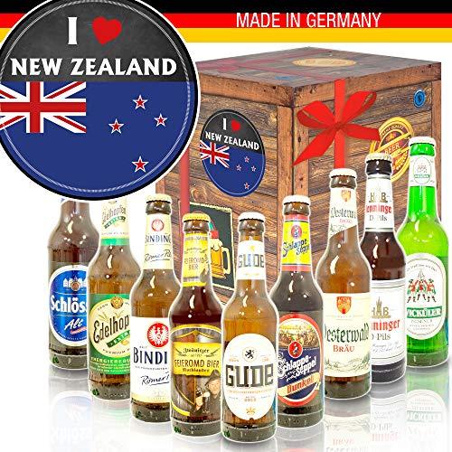 I love New Zealand/Bier aus Deutschland/Neuseeland Geschenk