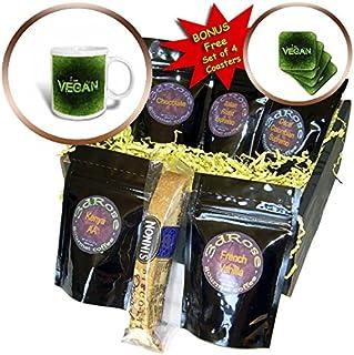 3dRose Sven Herkenrath Food - Green Vegan Style - Coffee Gift Basket (cgb_239660_1)