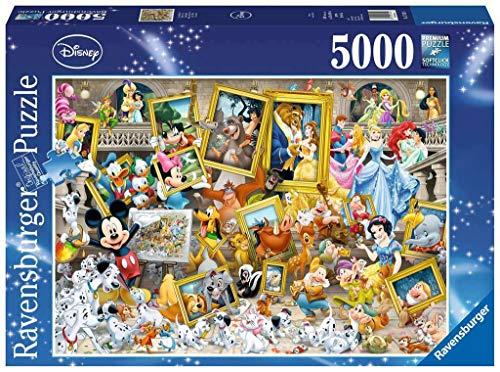 Ravensburger Italy- Puzzle Micky L'Artista, 5000 Pezzi, 17432 4