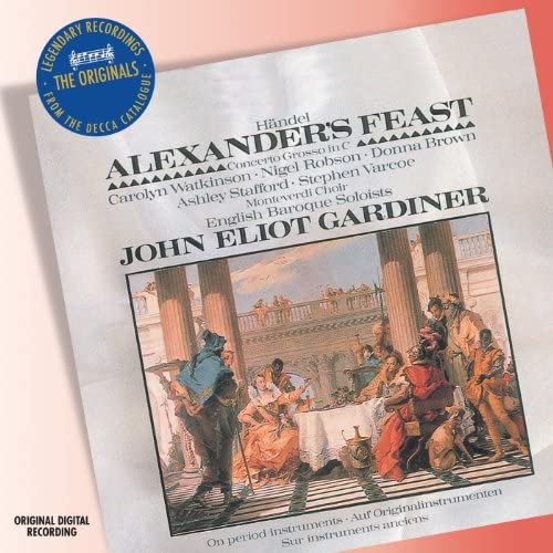 Donna Brown, Carolyn Watkinson, Ashley Stafford, Nigel Robson, Stephen Varcoe, The Monteverdi Choir, English Baroque Soloists & John Eliot Gardiner