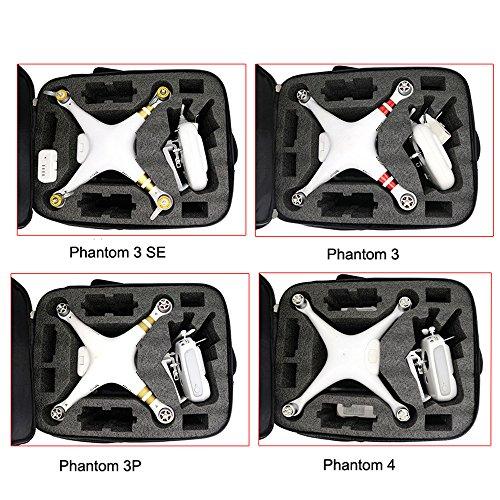 ALIKEEY Kamera Zubehör Tragetasche Rucksack Tasche für DJI Phantom 3S 3A 3SE 4A 4 4Pro
