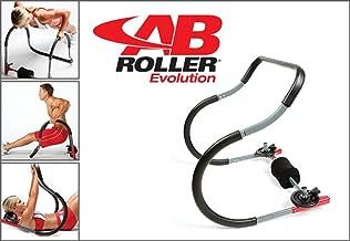 AB Roller Evolution - Aparato de gimnasio para entrenamiento de los músculos abdominales superiores e inferiores + DVD incluido (idioma español no garantizado) - Idea de regalo