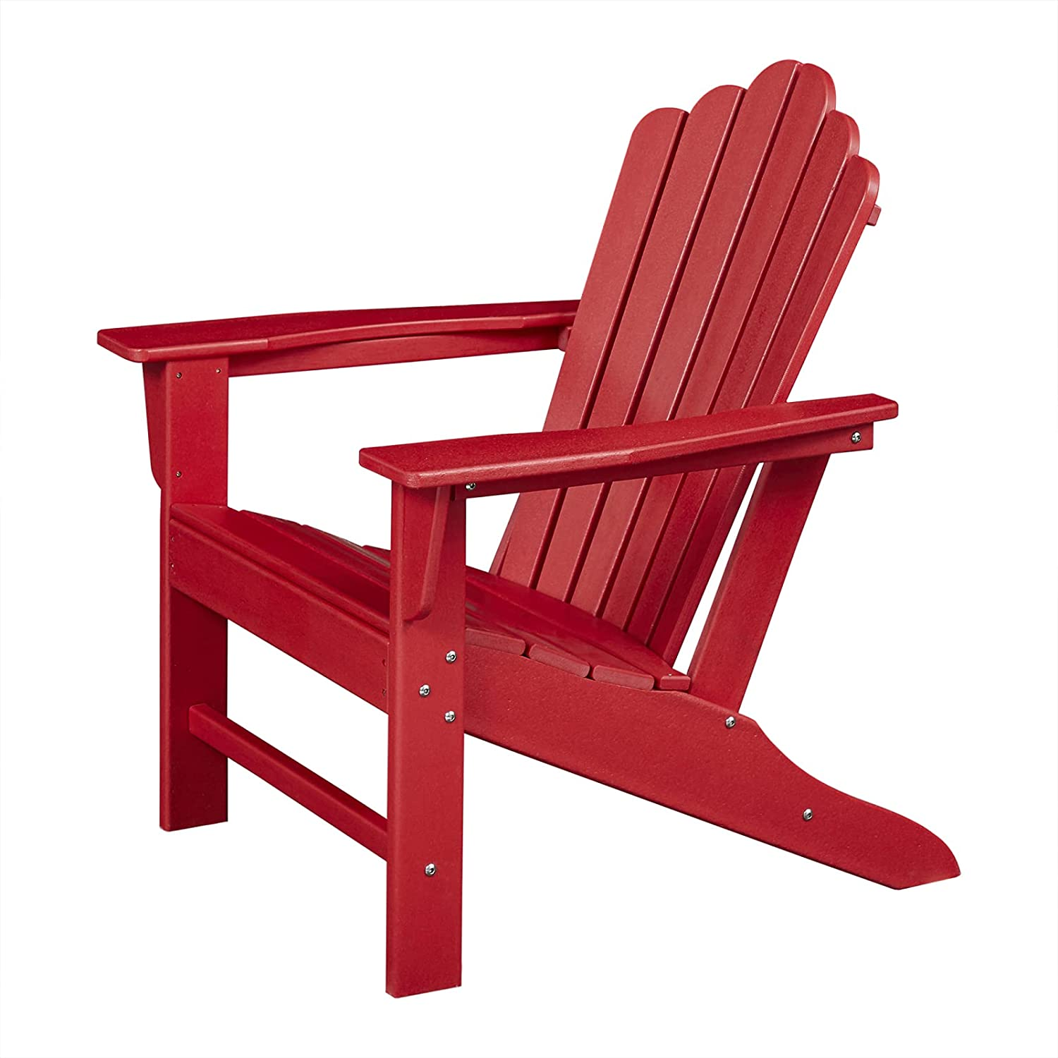 Classic Outdoor Adirondack Special Campaign Chair Plastic HDPE Resistant shipfree Weather