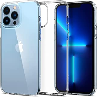SPIGEN Liquid Crystal Case Designed for Apple iPhone 13 Pro Max (2021)[6.7-inch] Exact Fit Slim Soft Cover - Clear