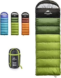 Naturehike Camping Sleeping Bag for Adults & Kids, Lightweight Waterproof 3 Season Warm & Cold Weather for Backpacking, Hi...