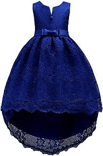 FKKFYY 2-14 Years Girl Wedding Party Graduation Long Tail Tutu Dresses