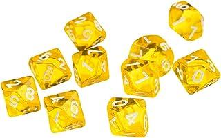 TRPG Hellery 40x D/és Poly/édriques /à 4 Faces en Acrylique pour Jeux de soci/ét/é