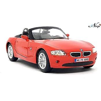 Negi Kinsmart Car 1:32 BMW Z4 Car Open Door Car Metal Car Die-Cast Car Pull Back Car (Any One & Colour May Vary) (BMW Z4)