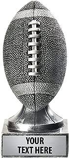 Crown Awards Silver Fantasy Football Trophy - 5.75