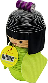 Dolls - Paper Craft DIY Kit : 3D Paper World Quilling. Handmade Toys for Kids and Adults Alike. Great Decorations for Home or a Party. (Japanese Kokeshi Doll, Medium)