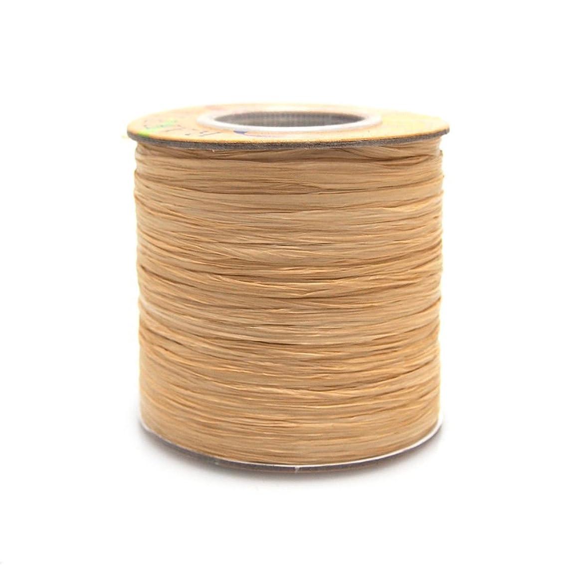 Homeford FHV0000000057102 Matte Raffia Ribbon, 1/4-Inch, Natural