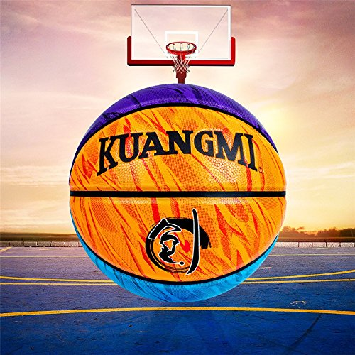 Lowest Prices! Genetic Los Angeles PU Leather Basketball Man's Street Ball Basketball Ball Indoor Ou...
