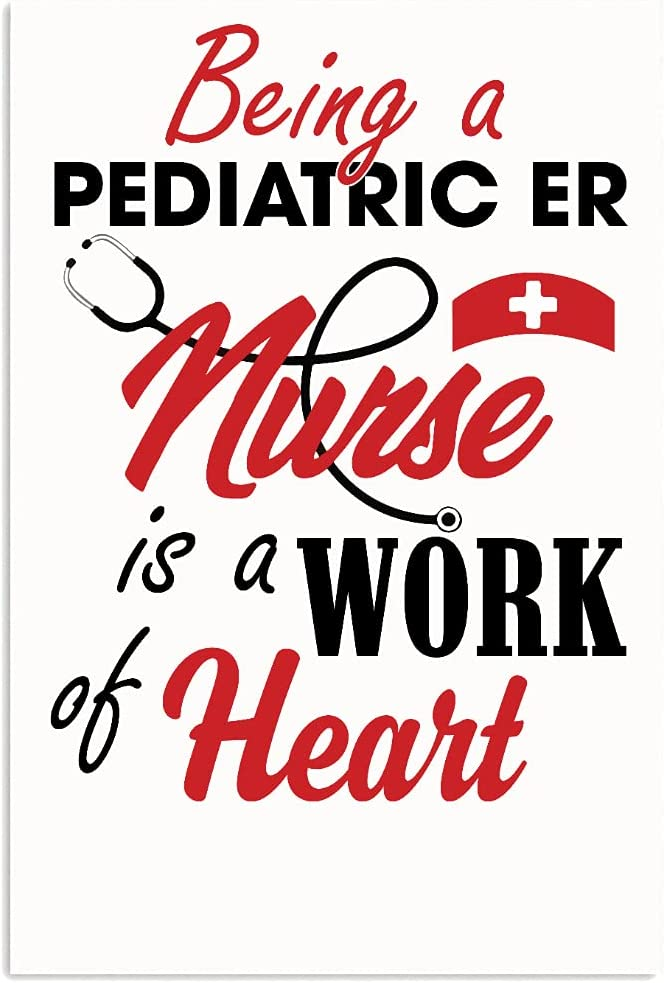 Morgan Schai San Diego Mall Being A Pediatric Er of Wall Nurse Max 70% OFF Work is Heart