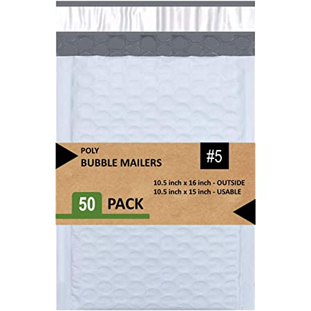 """Poly bubble Mailers #5 10.5/""""x16/"""""""