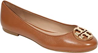 Tory Burch Tumbled Leather Claire Ballet Flat