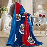 Chivas Silk Touch Sherpa Lined Throw Blanket 50x60