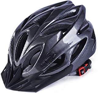Beauenty [Black]Bicycle Riding Mountain Bike Equipment Accessories Ultralight Integrally-Molded Sports Cycling Helmet