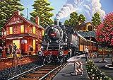 Buffalo Games - Americana Collection - Bear Creek Depot - 500 Piece Jigsaw Puzzle, (Model: 3731)