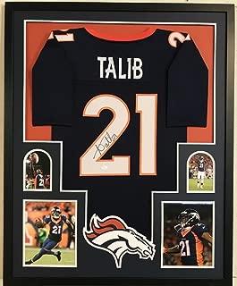 Aqib Talib Signed Broncos 34