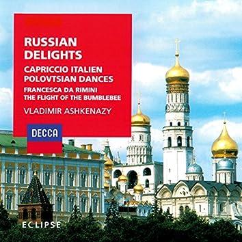 Russian Delights - Borodin: Polovtsian Dances / Tchaikovsky: Francesca da Rimini; Capriccio italien / Rimsky-Korsakov: The Tale of Tsar Saltan Suite