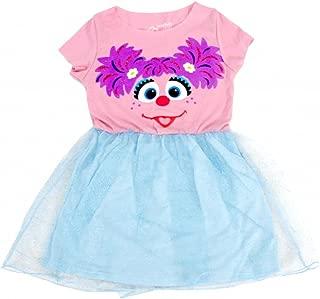 Sesame Street Abby Blue Glitter Dress
