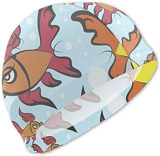 Gorro de baño con diseño de pez para niños Gorro de baño para niños