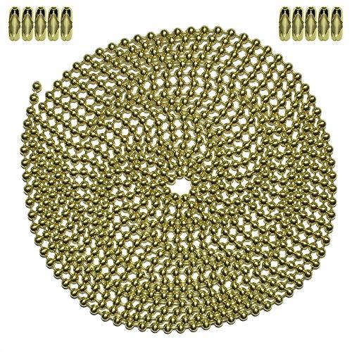 Ball Chain #3 Connectors Aluminum 100 Count Ball Chain Manufacturing #3CONN-ALUM-100