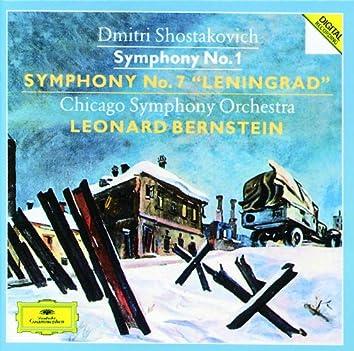 "Shostakovich: Symphonies Nos.1 & 7 ""Leningrad"""