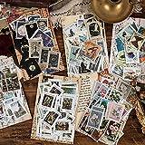 Super Value Pack : Questo set di adesivi per francobolli vintage vale per soldi, include 6 confezioni, 23 modelli x 2 pezzi = 46 pezzi per tema e totalmente 276 s Materiale in carta patinata di alta qualità : Questi adesivi per adulti sono realizzati...