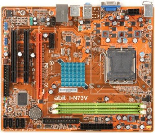 Abit I-N73V Mainboard Micro-ATX Nvidia 7100 / Nforce 630i Sockel 775