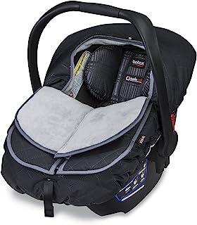 Britax B-Warm Insulated Infant Car Seat Cover, Polar Mist | Crash Tested + Plush Interior Fabric + All Weather Exterior Fa...