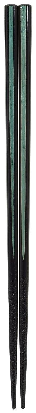 予定部屋を掃除する眉をひそめるアオバ 箸 食洗機対応 天然木 フェスタ 水色 23cm