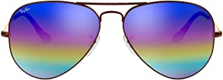 Rb3025 Aviator Classic Mirrored Sunglasses