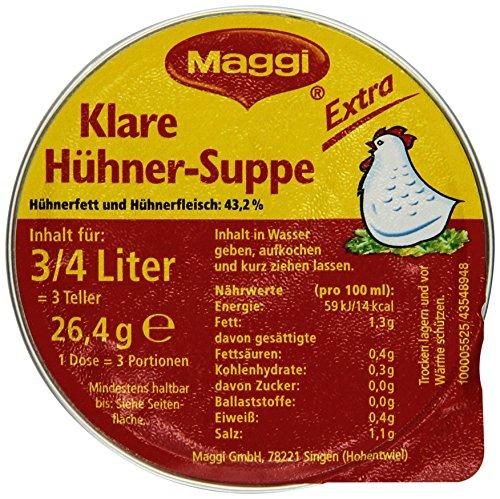 Maggi klare Hühnersuppe extra, 20er Pack (20 x 750 ml)