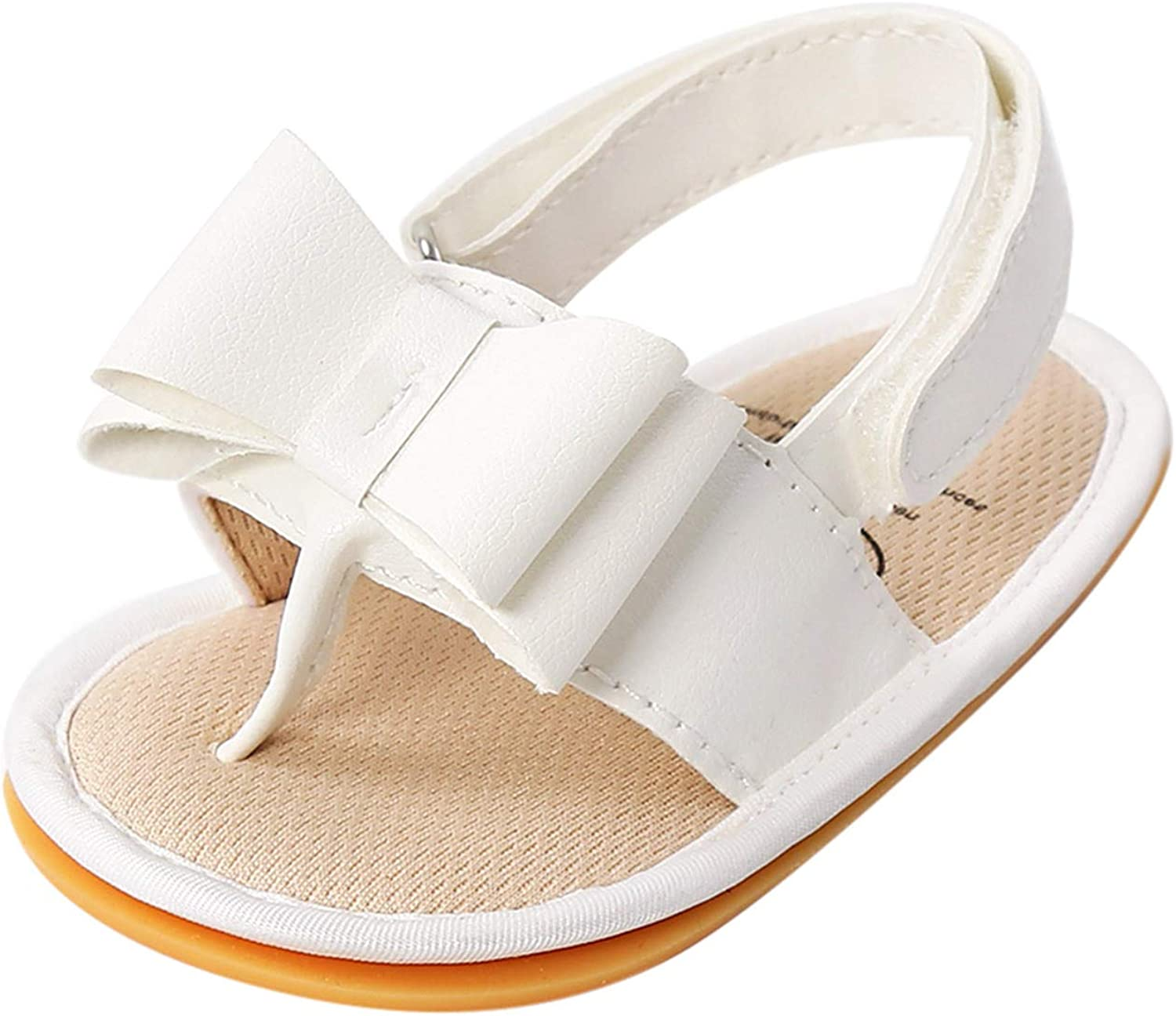 Slippers for Baby Kids Bow Sandals Drying Max 68% OFF Sl Toe Open Quick Soft Now free shipping