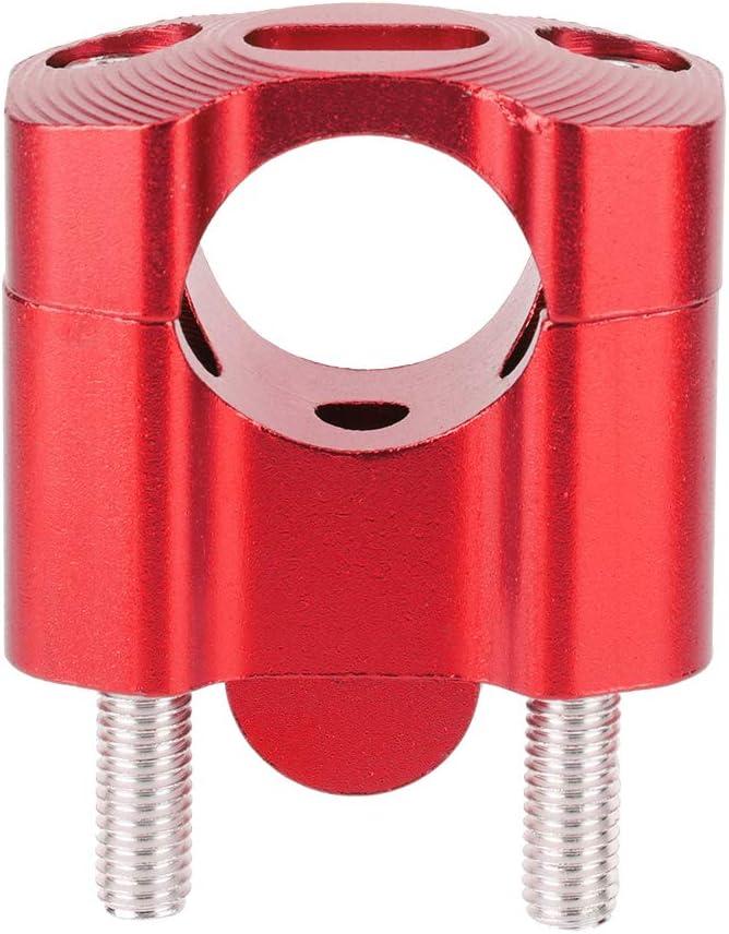BYARSS Motorradlenker Riser-Paar 22mm//28mm 1//8in 7//8in Motorrad Lenkerhalterungen Riser Adapter CNC Aluminiumlegierung