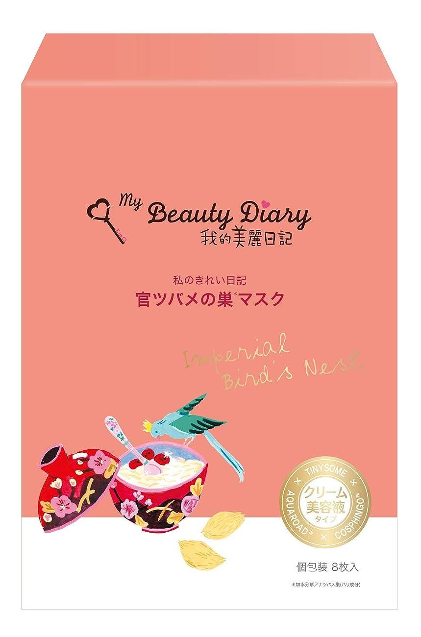 毎週表現実現可能性我的美麗日記-私のきれい日記- 官ツバメの巣マスク 8枚入