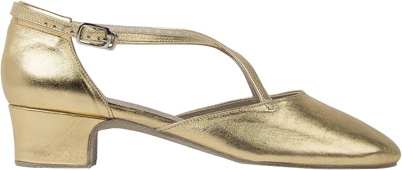 Rumpf Broadway 2021 Italian Women Dance gold Italian Leather Pumps