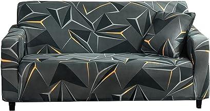 Bankhoezen 3-zitsbankhoes, bedrukte elastische bankhoezen, universele meubelbeschermer, antislip zachte verwijderbare wasb...