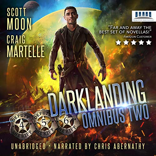Couverture de Darklanding Omnibus Books 4-6: Runaway, An Unglok Murder, SAGCON