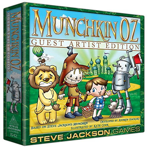 Steve Jackson Games sjg01542–Gioco di Carte Munchkin Oz Guest Artist Edition