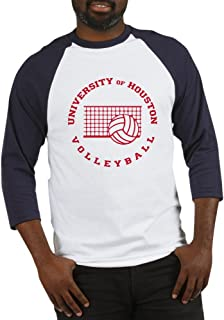 CafePress University of Houston Volleyball Baseball Shirt