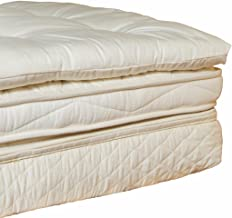 Holy Lamb Organics Quilted Wool Deep Sleep Mattress Topper - FULL
