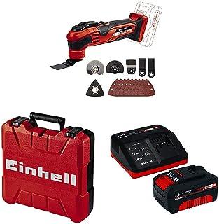 Einhell VARRITO Power X-Change Cordless Multifunction Tool, 18V with Einhell 18V 3,0Ah PXC Starter Kit Battery, 260 V, re...
