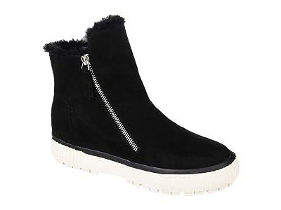Journee Collection Comfort Foam Jezzy Wedge Bootie (Black) Women