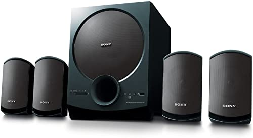 Sony SA-D40 4.1 Channel Multimedia Speaker System with Bluetooth (Black)