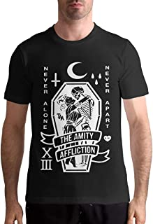 The Amity Affliction T Shirts Men's Tops Short Sleeved Round Neck Cotton Tee